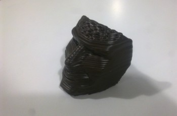 Our examples 3D choco mask