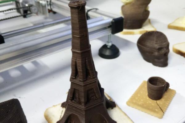 3D печать шоколадом